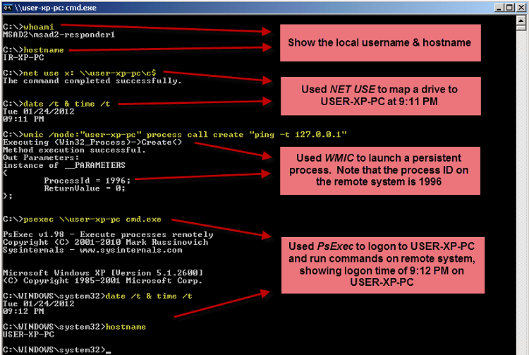 Avenir: удаленная перезагрузка windows server wmic.