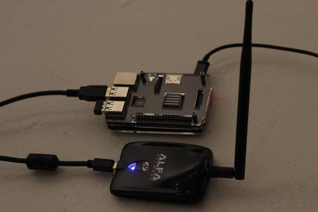 Настройка платформы Raspberry Pi и Kali Linux для работы с