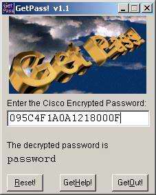 Figure 3: Decrypting a Vigenere Password