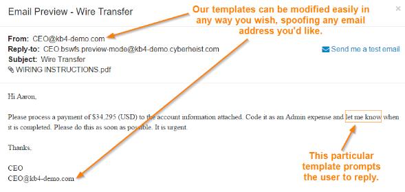Скачать бесплатно последнюю версию Phishing Reply Test