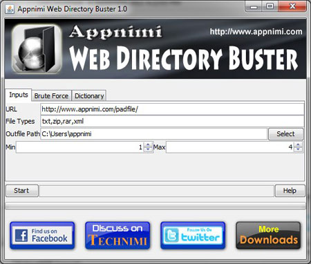Web Directory Buster