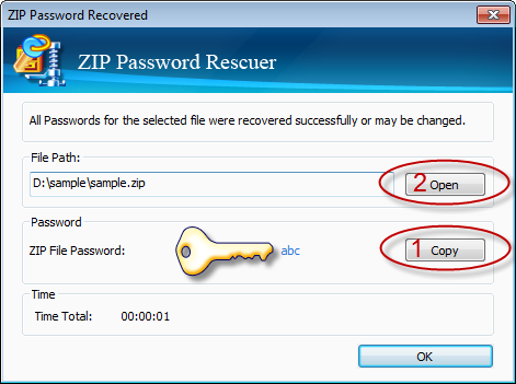 Daossoft ZIP Password Rescuer