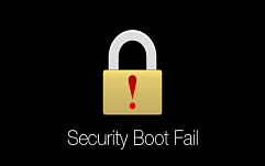 ������ � ������� Windows ��������� ������ UEFI SecureBoot
